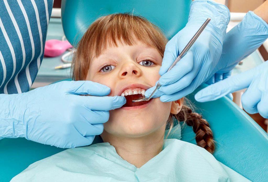 Dantų silantai vaikams